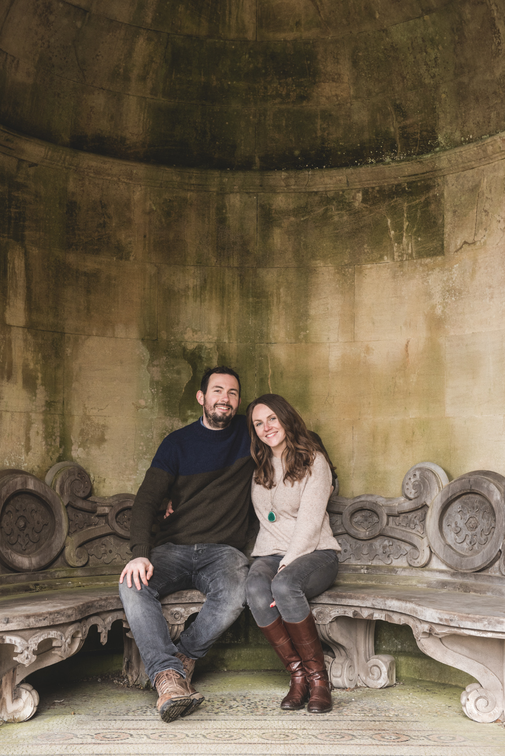 Cotswolds engagement portrait session byGarazi wedding photographer